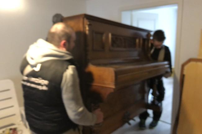 Klaviertransport