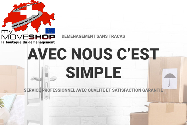 My Move Shop - la boutique du déménagement